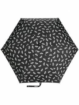 Moschino зонт с логотипом 8018SUPERMINIA