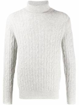 N.peal 007 Cable Roll Neck Sweater NPG299JB