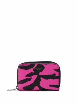 Saint Laurent кошелек с анималистичным принтом 5065221FH3D