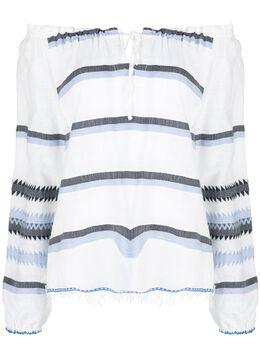 Lemlem блузка Aster RW2016STEELBLUE