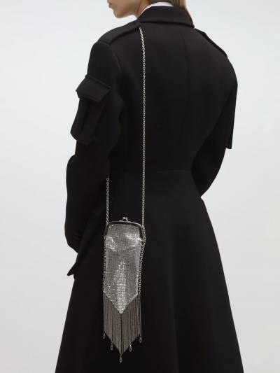 Embellished Metal Clutch Paco Rabanne 70IX0O004-UDA0MA2 - 2