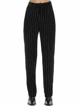 Straight Leg Viscose & Silk Pants Zadig & Voltaire 70IWOJ006-Tk9JUg2