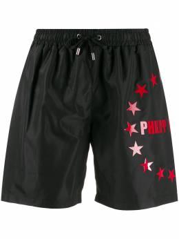 Philipp Plein плавки-шорты с принтом A19CMMT0160PNY002N
