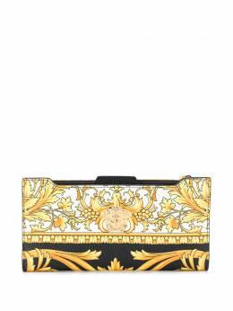 Versace кошелек с принтом Medusa Barocco DPU6140DVTG8