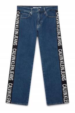Джинсы с лампасами и логотипом Calvin Klein Jeans 2777165677