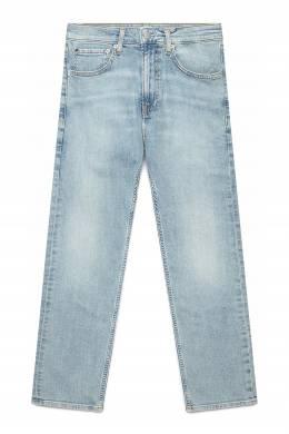 Плотные джинсы голубого цвета Calvin Klein Jeans 2777165675