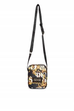 Небольшая сумка с узором Versace Jeans 3025165837