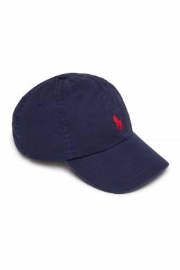 Бейсболка синего цвета Polo Ralph Lauren 3023165641