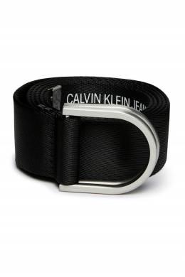 Черный ремень из текстиля Calvin Klein 596165686