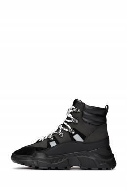 Черные ботинки на массивной подошве Versace Jeans 3025165846
