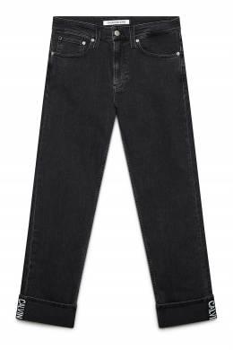Темно-серые джинсы с отворотами Calvin Klein Jeans 2777165678