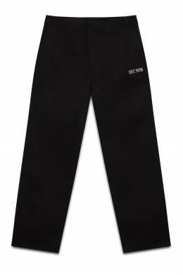 Черные брюки с надписью Calvin Klein 596165693