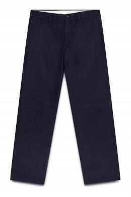 Синие брюки с карманами Maison Margiela 1350165854