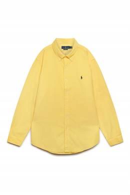 Рубашка желтого цвета Polo Ralph Lauren 3023165640