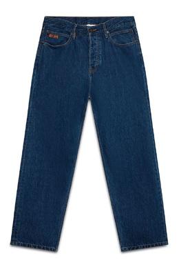 Синие джинсы с вышивкой Calvin Klein 596165706