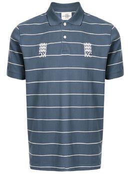 Kent & Curwen рубашка-поло в полоску K37H9TM05038