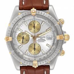 Breitling Silver Stainless Steel Windrider Cockpit B13355 Men's Wristwatch 43 MM 245337