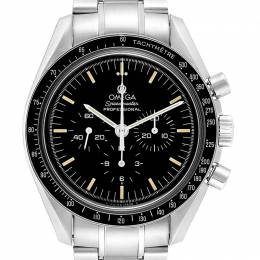 Omega Black Stainless Steel Speedmaster Chronograph 3570.50.00 Men's Wristwatch 42 MM 245492