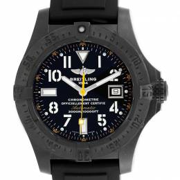 Breitling PVD Coated Stainless Steel Avenger Seawolf M17330 Men's Wristwatch 45 MM 245318
