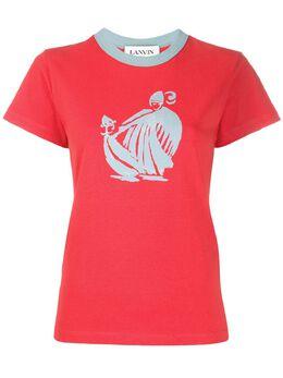 Lanvin graphic print T-shirt RWTO688ITJ02H19