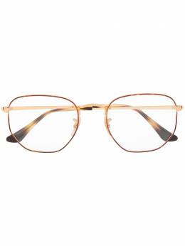 Ray Ban солнцезащитные очки в шестиугольной оправе 0RX6448294554