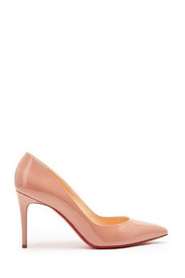 Кожаные туфли Pigalle 85 Christian Louboutin 10650813