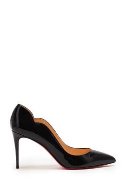 Черные лаковые туфли Hot Chick 85 Christian Louboutin 106112310