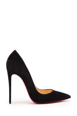 Велюровые туфли So Kate 120 Christian Louboutin 106132827