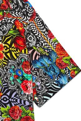 Разноцветная рубашка Versace Jeans 3025166120