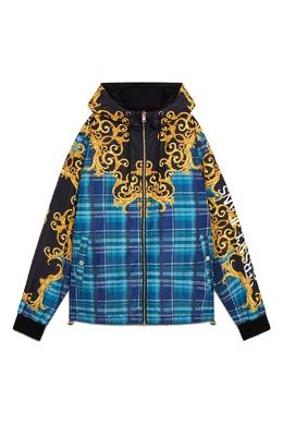 Разноцветная куртка с капюшоном Versace Jeans 3025166121