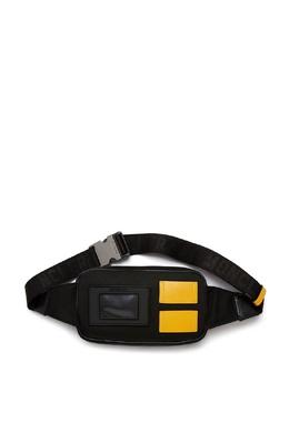 Черная поясная сумка Moncler 34166170