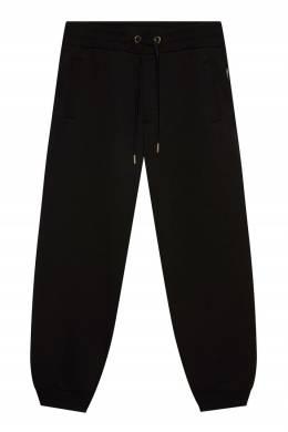Черные трикотажные джоггеры Versace Jeans 3025166272