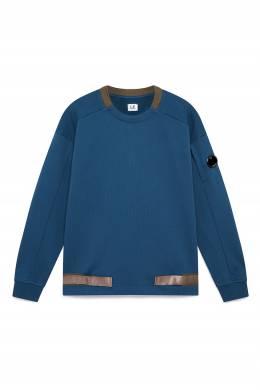 Синий флисовый свитшот с отделкой C.P. Company 1929166273
