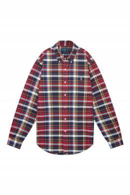 Красная клетчатая рубашка Polo Ralph Lauren 3023166261