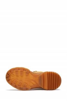 Коричневые ботинки на шнуровке Maison Margiela 1350165506