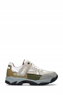 Бежевые кроссовки с контрастными вставками Maison Margiela 1350165503