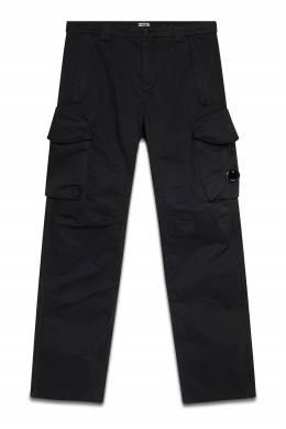 Черные брюки с пластиковой линзой C.P. Company 1929166145