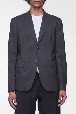 Темно-серый базовый пиджак Acne Studios 876165548