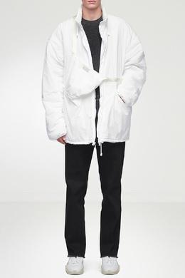 Пуховик белого цвета Maison Margiela 1350165568