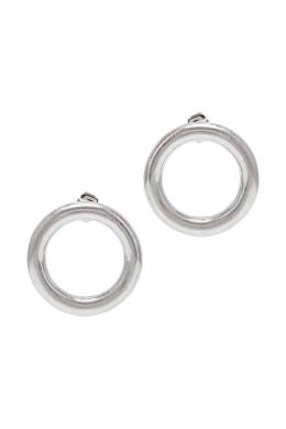 Серебристые серьги-круги Lisa Smith 1168166052