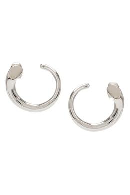 Серьги-завитки с серебрением Lisa Smith 1168166065