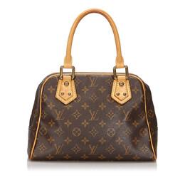 Louis Vuitton Monogram Canvas Manhattan PM Bag 239486