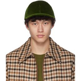 Ami Alexandre Mattiussi Green Patch Cap 192482M13900801GB