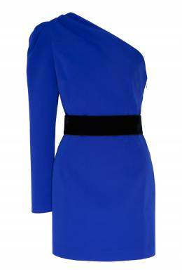 Синее платье мини ассиметричного кроя P.a.r.o.s.h. 393166139