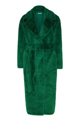 Шуба из искусственного меха ярко-зеленого цвета P.a.r.o.s.h. 393166090