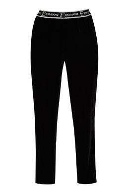 Черные брюки из бархата Ermanno Ermanno Scervino 1790165884