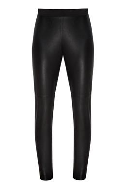 Черные кожаные брюки P.a.r.o.s.h. 393166283