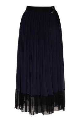 Плиссированная юбка с поясом Ermanno Ermanno Scervino 1790165882