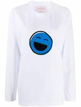 Natasha Zinko футболка с длинными рукавами и принтом Smiles FW19502063004