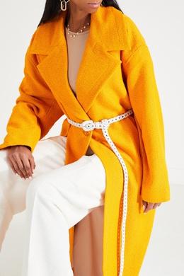 Белый ремень с плетеной отделкой Jacquemus 2985147864